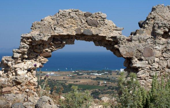 Греческий остров КОС от