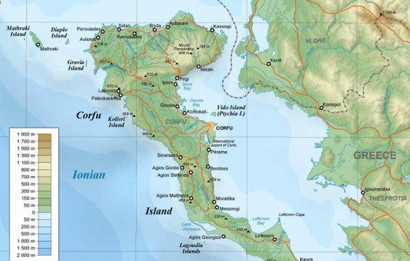 В остров Корфу влюбляешься с