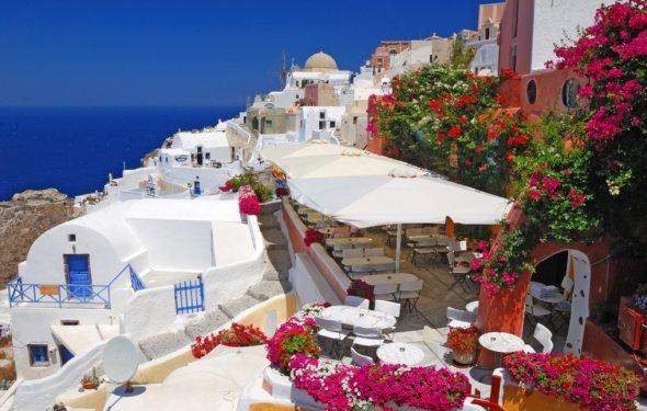 Греция, Санторини, Ия