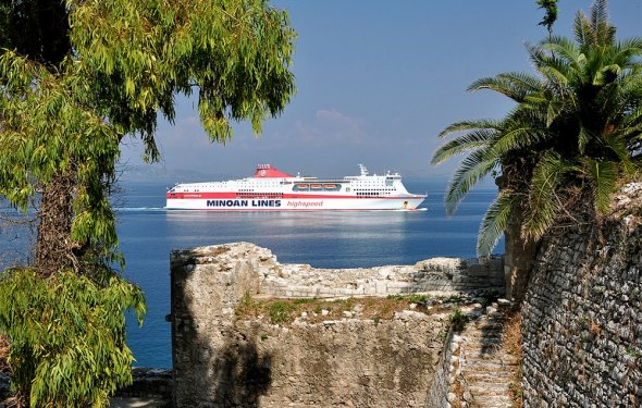 Корфу, Греция, Европа