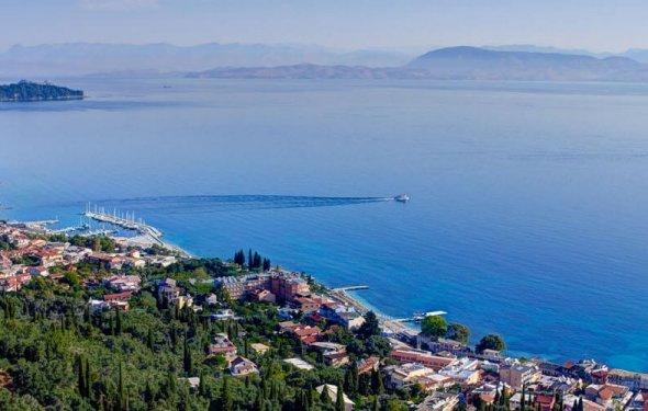 Корфу, Греция — отдых, пляжи