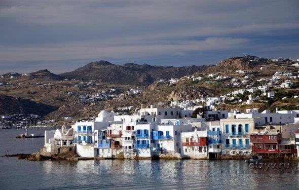 Морской круиз по греческим