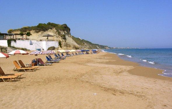 Остров Корфу пляж фото