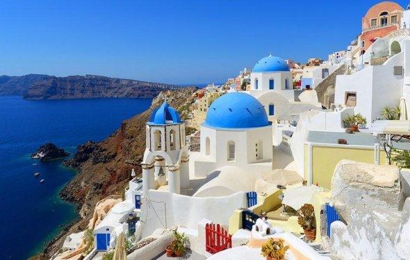 Греция: Отдых на Санторини
