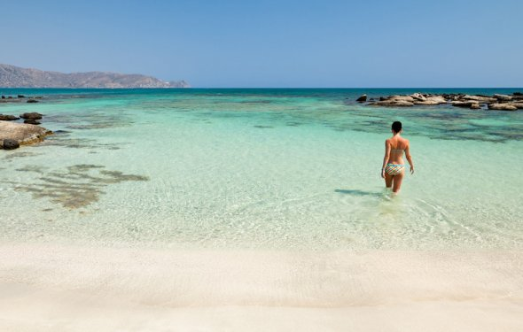 Пляж Элафониси. Крит