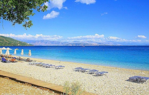 Пляж Barbati (Корфу, Греция)