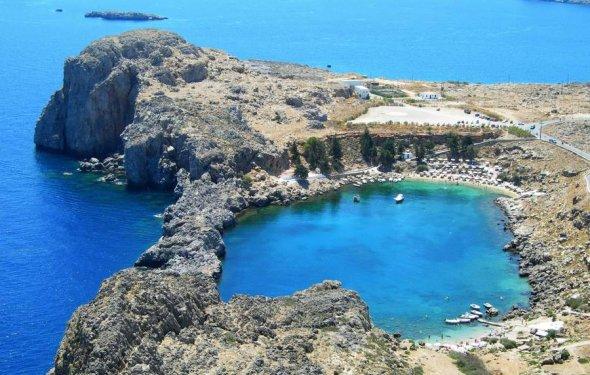 Популярные курорты Греции