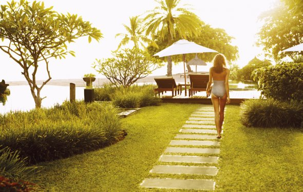 Райский уголок на острове