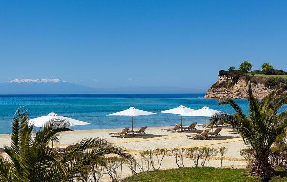 Пляж Сани в Греции, фото 1